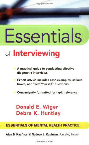 Essentials of Interviewing   2002 edition cover
