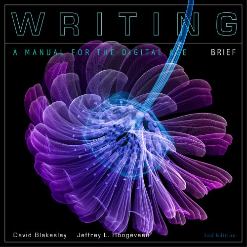 Writing A Manual for the Digital Age 2nd 2012 (Brief Edition) edition cover