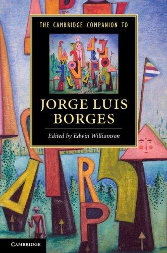 Cambridge Companion to Jorge Luis Borges   2013 edition cover