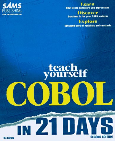 Sams Teach Yourself COBOL in 21 Days  2nd 1997 9780672311376 Front Cover