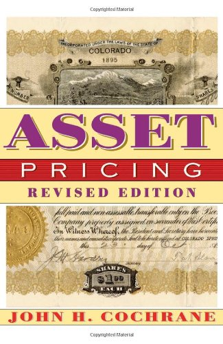 Asset Pricing   2005 (Revised) edition cover