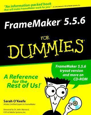 FrameMaker 5.5.6 for Dummies   2000 9780764506376 Front Cover