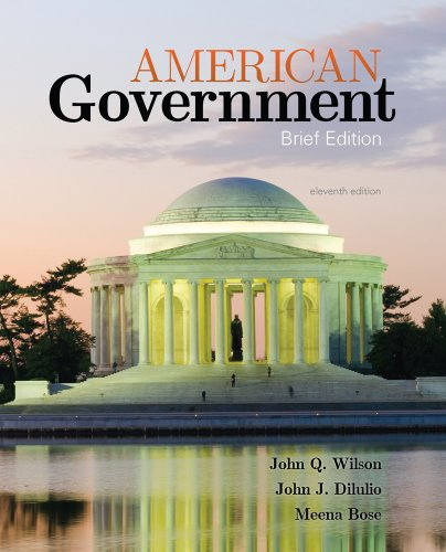 American Government Brief Version 11th 2014 edition cover