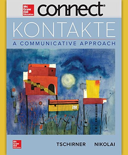 Connect Access Card for Kontakte (720 Days)  8th 2017 9781259689376 Front Cover