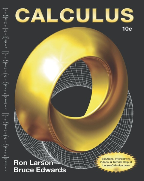 Calculus, 10e 10th 9781285415376 Front Cover