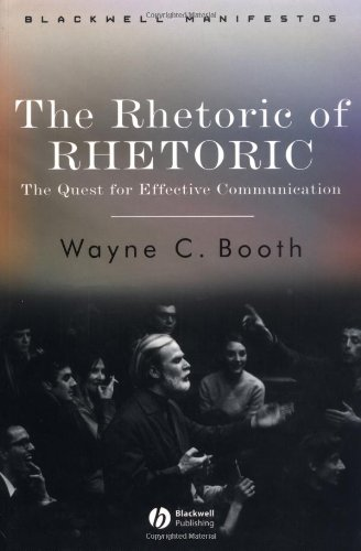 Rhetoric of RHETORIC The Quest for Effective Communication  2004 9781405112376 Front Cover