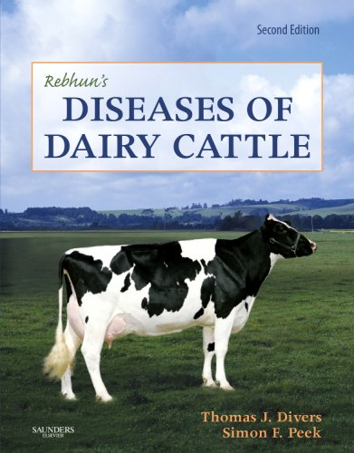 Rebhun's Diseases of Dairy Cattle  2nd (Revised) edition cover