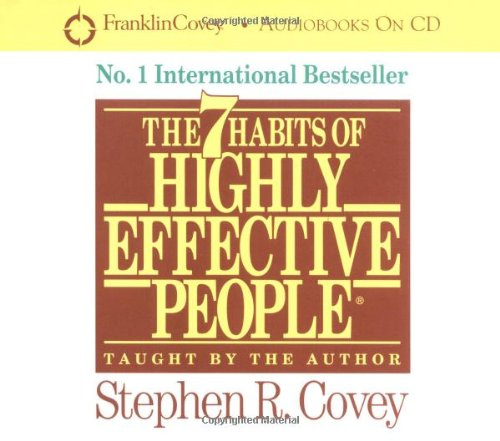 7 Habits of Highly Effective People : Powerful Lessons in Personal Change  2002 (Unabridged) edition cover