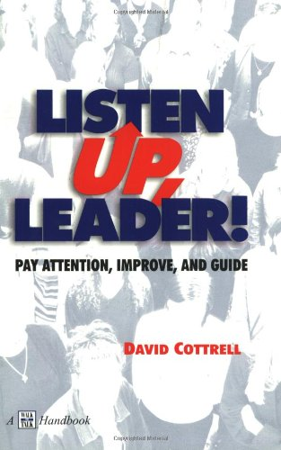 Listen Up, Leader! 2nd 2000 (Revised) edition cover