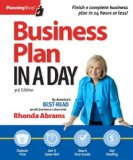 Business Plan in a Day  3rd 9781933895376 Front Cover
