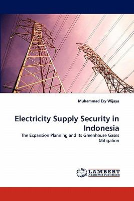 Electricity Supply Security in Indonesi N/A 9783838329376 Front Cover