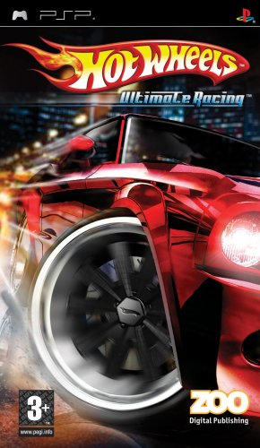 Hot Wheels: Ultimate Racing Sony PSP artwork