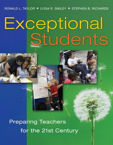 Exceptional Students Preparing Teachers for the 21st Century  2009 edition cover