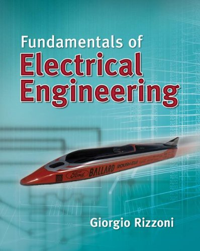 Fundamentals of Electrical Engineering   2009 edition cover