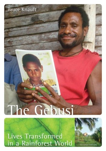 Gebusi Lives Transformed in a Rainforest World 2nd 2010 edition cover