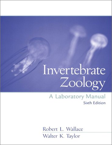 Invertebrate Zoology  6th 2003 (Revised) edition cover