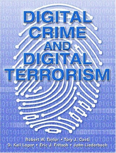 Digital Crime and Digital Terrorism   2006 edition cover
