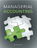 Managerial Accounting  4th 2015 edition cover