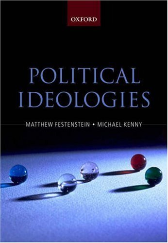 Political Ideologies A Reader and Guide  2004 edition cover