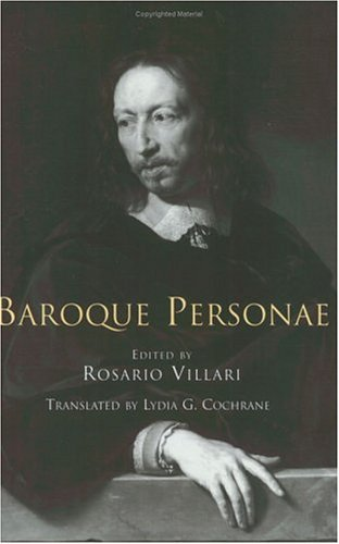 Baroque Personae  N/A 9780226856377 Front Cover
