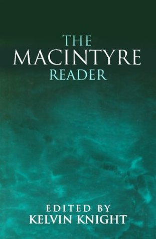 MacIntyre Reader 1st edition cover