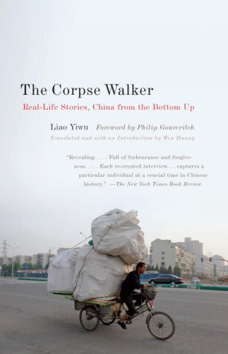 Corpse Walker Real Life Stories: China from the Bottom Up  2009 edition cover