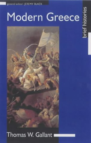 Modern Greece   2001 edition cover