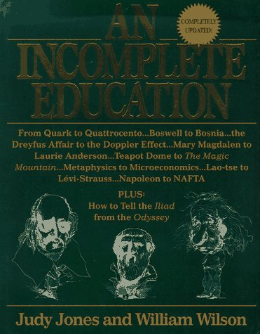 Incomplete Education, Revised Edition  1995 (Revised) edition cover