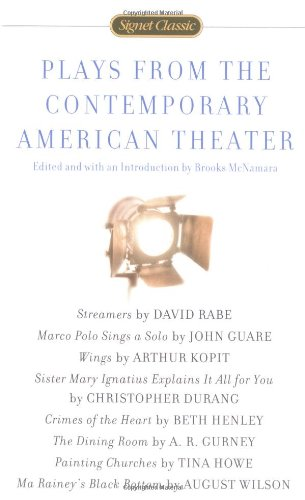 Plays from the Contemporary American Theater  N/A edition cover