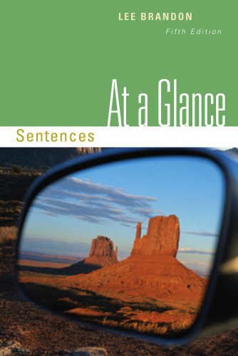 At a Glance Sentences 5th 2012 edition cover