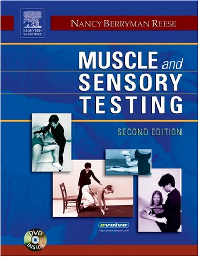 Muscle and Sensory Testing  2nd 2005 (Revised) edition cover