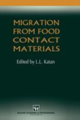 Migration from Food Contact Materials   1996 9780751402377 Front Cover