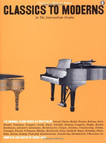 Intermediate Grades Classics to Moderns N/A edition cover