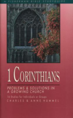 1 Corinthians Problems and Solutions in a Growing Church N/A 9780877881377 Front Cover