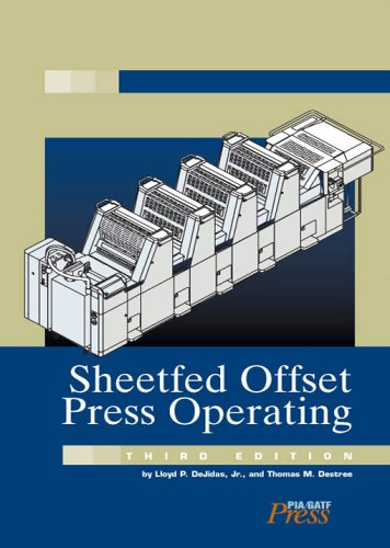 Sheetfed Offset Press Operating 3rd 2005 edition cover