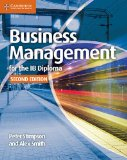 Business Management for the IB Diploma  2nd 2015 (Revised) 9781107464377 Front Cover