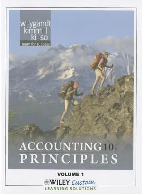 Accounting Principles 10th Edition Volume 1 for Queensborough Community College 10th 2011 9781118101377 Front Cover