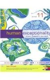 Cengage Advantage Books: Human Exceptionality  11th 2014 edition cover