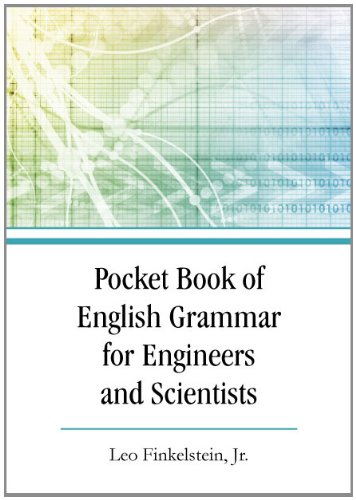 Pocket Book of English Grammar for Engineers and Scientists   2011 edition cover