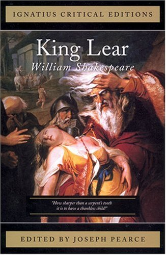 King Lear Ignatius Press Critical Editions N/A edition cover