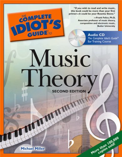 Complete Idiot's Guide to Music Theory  2nd 2005 (Revised) edition cover