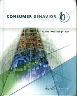 Consumer Behavior : Building Marketing Strategy 10th 2007 edition cover