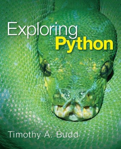 Exploring Python   2010 edition cover