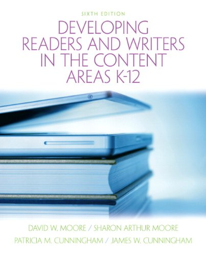 Developing Readers and Writers in Content Areas K-12  6th 2011 edition cover