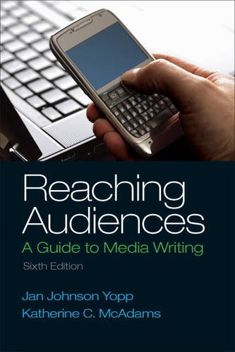 Reaching Audiences:   2014 edition cover