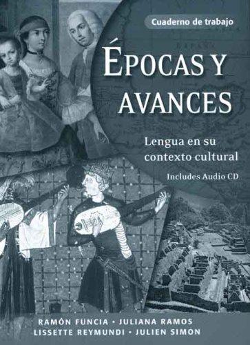 �pocas y Avances Lengua en Su Contexto Cultural Workbook edition cover