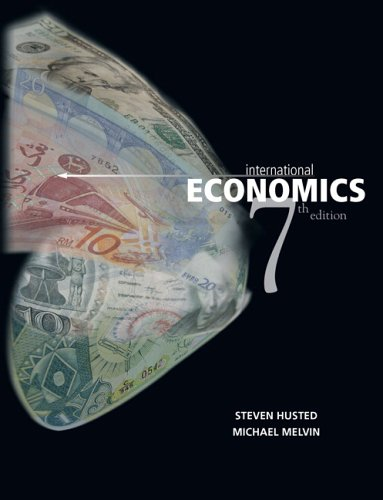 International Economics  7th 2007 (Revised) edition cover