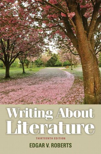 Writing about Literature  13th 2012 edition cover
