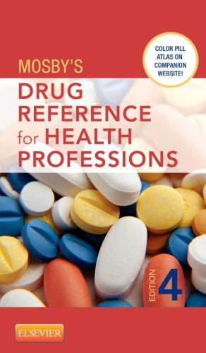 Mosby's Drug Reference for Health Professions  4th 2014 edition cover