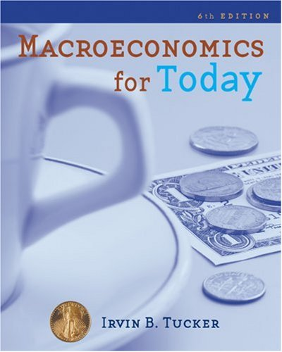 Macroeconomics for Today  6th 2010 edition cover